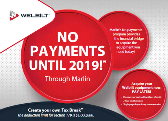 NO PAYMENTS UNTIL 2019!*